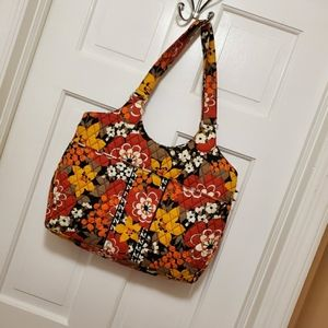 "Vera Bradley Retired ""Bittersweet"" Laptop Carryall"